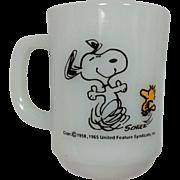 Fire King Snoopy Mug