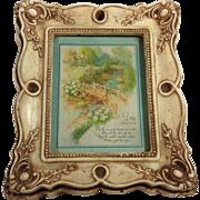 Mother's Poem in Ornate Molded Frame