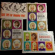 1960s Mattel Fashion Booklets