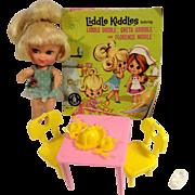 Mattel's Greta Griddle #3508 Liddle Kiddle1966