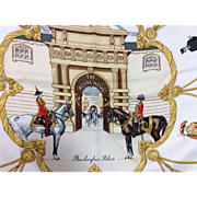 SOLD Authentic Hermes Scarf The Royal Mews - Red Tag Sale Item
