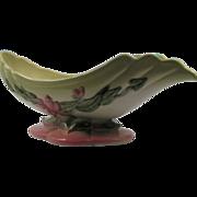 USA Hull Pottery Woodland Console Bowl
