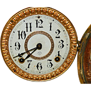 SOLD Antique Ansonia Hand Crafted Walnut Bracket Clock-Excellent, Fully Working Condition with