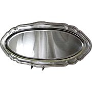 REDUCED Fish Platter 29 in. with French Gadroon, Applied Border