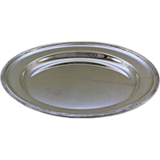 REDUCED Round Platter 14 in., Acanthus Leaves