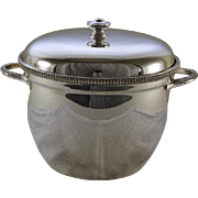 REDUCED Ice Bucket  with Genuine Thermos Double Wall Glass Lining
