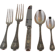 REDUCED Celestialy Sterling Silver 5-pc Place-Setting, 87- Montrésor