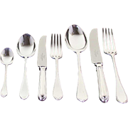 REDUCED Complete European Cutlery Set for 12, including Fish Eaters & Serving Pieces