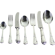 REDUCED Canteen of Complete European Cutlery Set for 12, including Fish Eaters & Serving Piece