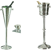 REDUCED Silver Base & Champagne-Wine Cooler, Fluted