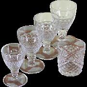 REDUCED Marvelous 5 pc Crystal Set  designed for Renwick & Clark