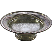 REDUCED Fruit/Cake Dish, Fluted Border, Embossed
