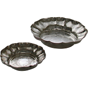 REDUCED Round Shaped Fruit & Sweet Dish Embossed