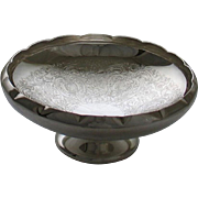 REDUCED Round Shaped Fruit & Sweet Dish, Embossed