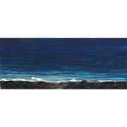 SUSAN HALL, Listed New York/California, Palomarin California Seascape, 2004, mixed media