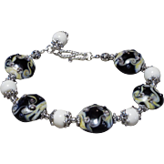 REDUCED Handmade Lampwork , Bracelet
