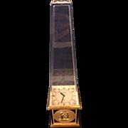 Jaeger LeCoultre Obelisk Egyptian Revival Desk Clock 462