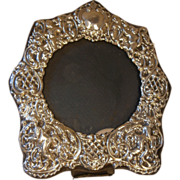 English Sterling Silver Photo , Picture Frame