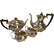 Viners 4 Pc Silver Plated Teapot Set