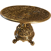 SOLD Antique Brass Tazza