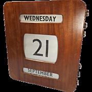 Large Wall Perpetual Calendar