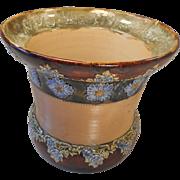 Antique Stoneware Doulton Jardiniere