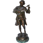 19th c. French Bronze of Mozart