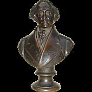 1860's Bronze Bust of George Washington by Carlo Marochetti