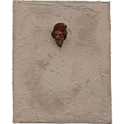 "SALE ""Head through the Wall"" - Original ARTiFACT by Sebastian Vianova - Antique meet"
