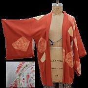 Vintage Fine Silk Kimono from Japan