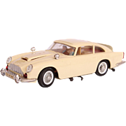 Rare JAMES BOND 007 Aston Martin DB5  - Tan GAMA Wind-Up Car with Secret Agent ...