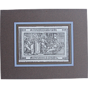 18th Century Copper Engravings of Jesus at the Temple (Luke 2:42-51) from a ...