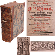 """SALE 1749 Book Explonation of The Five Books of Moses """"Synopsis Bibliothecae Exegeticae i"""