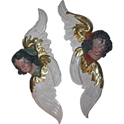 SALE 18th Century Pair of two Putti / Angel / Cherubs - Baroque Statue from Westphalia Germany