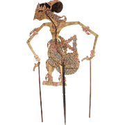 SALE Original Indonesian Leather Shadow Puppet - Wayang