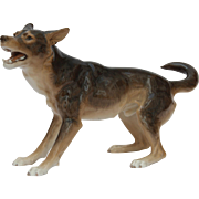 SALE Bing and Grondahl B&G 1854 German Shepherd 32 cm / 1915-1948