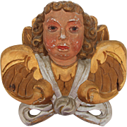 SALE Baroque Putti / Angel / Cherub 18th Century - Wood carved