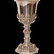 SALE 18th Century Rococo Silver Chalice / Goblet / Cup 12 Lot (.750)