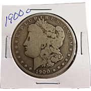 SOLD 1900 Morgan Silver Dollar 1 Dollar 90% Silver Coin - Great Coin - Free Shipping - In Hold