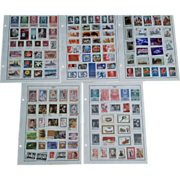 SOLD Russia/USSR 1960-1971 Lot of Over 300 Stamps on Harris Album Pages Lot # 1