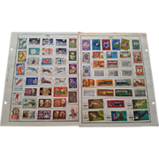 SOLD Russia/USSR 1950's-1970's Lot of Over 300 Stamps on Harris Album Pages Lot # 2