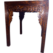 Antique Chinese Lacquered Wooden Alter Table, Shanxi Origin, c. 1850 - 1880