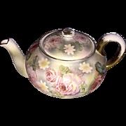 Royal Bayreuth Rose Tapestry Teapot