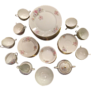 70-Piece Bohemian Czechoslovakia Fine China Set, c. 1930