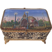SOLD French Paris Exposition Jewel Box 1900