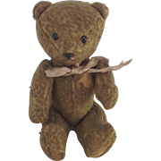 Cute Small Vintage Teddy Bear. Jointed Limbs.