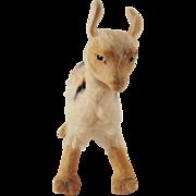 Very Cute Vintage Small Steiff Llama