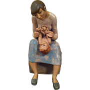 LLADRO Figurine 'Gentle Play'