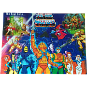 SALE He-Man and the Masters of the Universe MOTU India Unused Puzzle featuring Beast ...