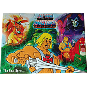 SALE He-Man and the Masters of the Universe MOTU India Unused Puzzle featuring Castle ...